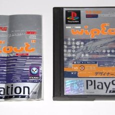 Videojuegos y Consolas: WIPEOUT WIPE OUT PLAYSTATION PSX VIDEOJUEGO. Lote 78379305