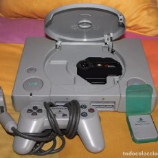 Videojuegos y Consolas: CONSOLA PLAY STATION 1 PS1 CON UN MANDO Y MEMORY CARD. Lote 107854422