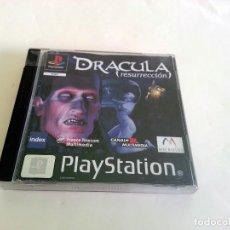 Videojuegos y Consolas: DRACULA RESURRECCION PAL SPA PLAY1 PSX PLAYSTATION. Lote 83485052