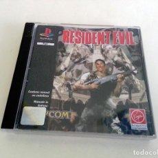 Videojuegos y Consolas: RESIDENT EVIL PAL SPA PLAY1 PSX PLAYSTATION. Lote 83486028