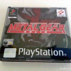 Videojuegos y Consolas: METAL GEAR SOLID PAL SPA PLAY1 PSX PLAYSTATION. Lote 83486220