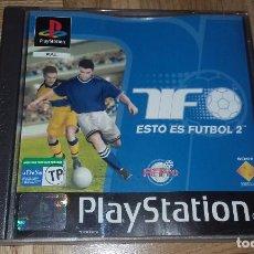 Videojuegos y Consolas: JUEGO PSX PLAYSTATION ONE PSONE ESTO ES FUTBOL 2. Lote 152042897
