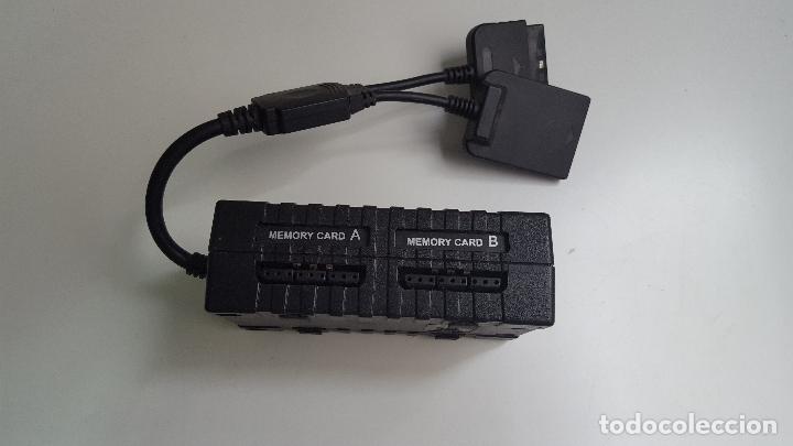 Videojuegos y Consolas: Playstation PS1 Logic 3 Multi link 2 4 ranuras tarjeta memoria - Foto 2 - 84302208