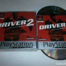 Videojuegos y Consolas: DRIVER 2 PLAYSTATION PAL ESPAÑA COMPLETO . Lote 98407828