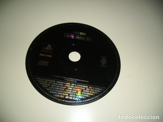 BAL-5 SOLO DISCO SIN LA CARATULA EURO DEMO 54 (Juguetes - Videojuegos y Consolas - Sony - PS1)