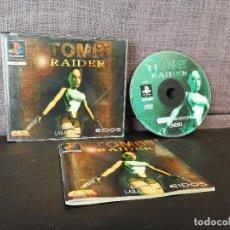 Videojuegos y Consolas: JUEGO TOMB RAIDER PRIMERA EDICION PSX. Lote 84770888