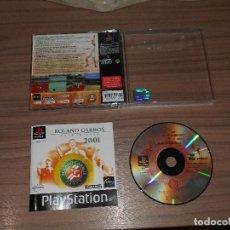 Videojuegos y Consolas: ROLAND GARROS FRENCH OPEN 2001 JUEGO PLAYSTATION PAL ESPAÑA. Lote 84818684