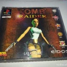 Videojuegos y Consolas: TOMB RAIDER - PLAYSTATION - PSX- PS1 - PAL ESPAÑA. Lote 85288640