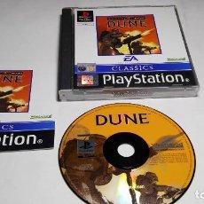 Videojuegos y Consolas: DUNE (PLAYSTATION ONE-PSX -PAL- ESPAÑA). Lote 86109372