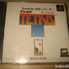 Videojuegos y Consolas: THE TETRIS SUPERLITE 1500 PLAYSTATION PSONE JAPONES. Lote 86735912