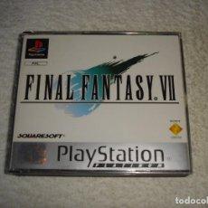 Videojuegos y Consolas: JUEGO VIDEOJUEGO PLAYSTATION PS1 - PSX PAL - FINAL FANTASY VII + DEMO - COMPLETO. Lote 87373688