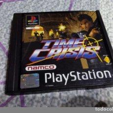 Videojuegos y Consolas: JUEGO PLAYSTATION 1 TIME CRISIS PS 1. Lote 87684580