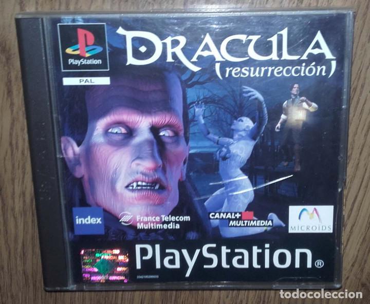 JUEGO PSX PLAYSTATION ONE PSONE DRACULA RESURRECCION 2 DISCOS (Juguetes - Videojuegos y Consolas - Sony - PS1)