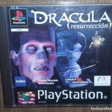 Videojuegos y Consolas: JUEGO PSX PLAYSTATION ONE PSONE DRACULA RESURRECCION 2 DISCOS. Lote 88684064