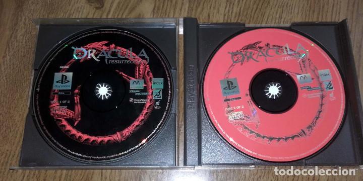 Videojuegos y Consolas: JUEGO PSX PLAYSTATION ONE PSONE DRACULA RESURRECCION 2 DISCOS - Foto 2 - 88684064