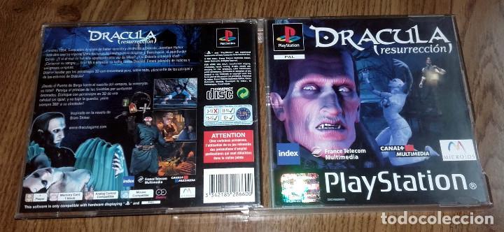 Videojuegos y Consolas: JUEGO PSX PLAYSTATION ONE PSONE DRACULA RESURRECCION 2 DISCOS - Foto 3 - 88684064