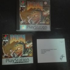 Videojuegos y Consolas: DOOM PLAYSTATION PS1 COMPLETO. Lote 88947110
