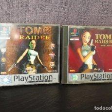 Videojuegos y Consolas: TOMB RAIDER I Y II PSX PLAY 1. Lote 89412108