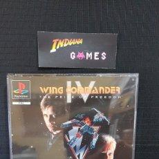 Videojuegos y Consolas: PSXPS1 WING COMMANDER IV. Lote 90040851