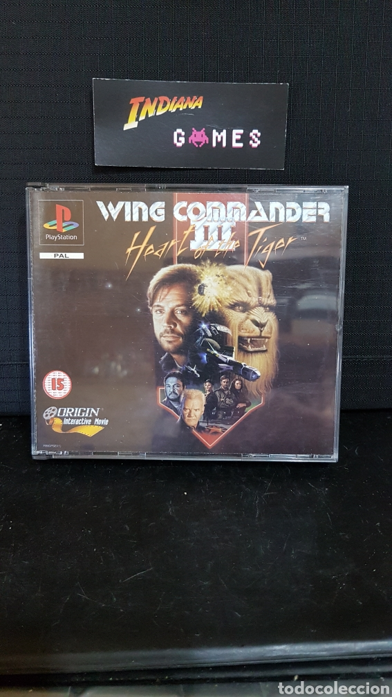 Psx Ps1 Wing Commander Iii Sold At Auction 90041547
