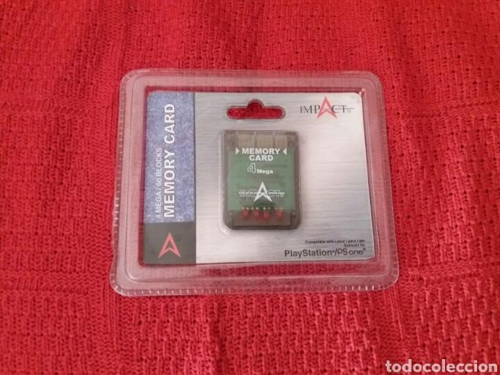 TARJETA DE MEMORIA PLAY STATION (Juguetes - Videojuegos y Consolas - Sony - PS1)