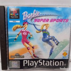 Videojuegos y Consolas: BARBIE SUPER SPORTS ESPAÑA PLAYSTATION 1 PSX PS1 PAL.COMBINO ENVIOS. Lote 91390515