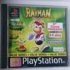 Videojuegos y Consolas: JUEGO PLAYSTATION RAYMAN JUNIOR MATEMÁTICAS Y LENGUAJE . Lote 92407895