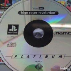 Videojuegos y Consolas: RIDGE RACER EVOLUTION PS1. Lote 93177720