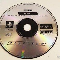 Videojuegos y Consolas: JUEGO WORMS PARA PLAY STATION PS1. SÓLO EL DISCO. Lote 95117215