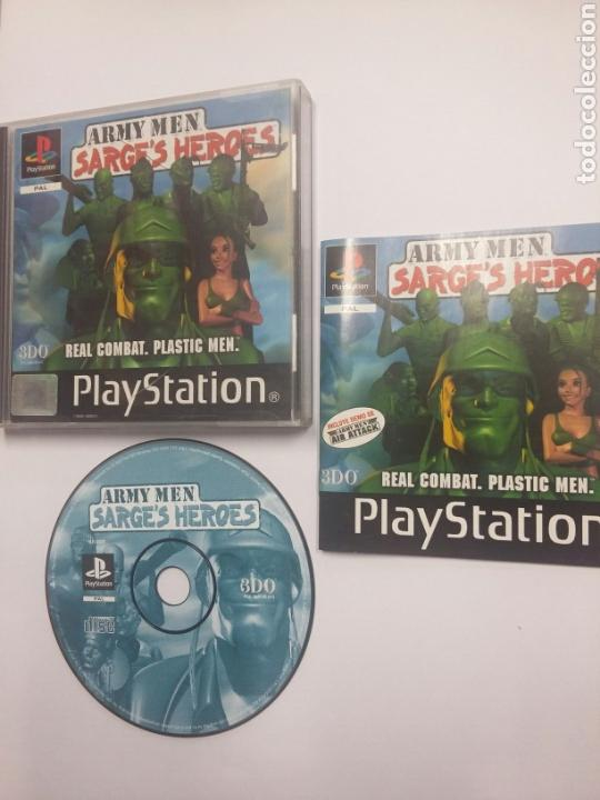 ARMY MEN SARGE'S HEROES - PLAYSTATION 1 - PS1 - TDKV3 (Juguetes - Videojuegos y Consolas - Sony - PS1)