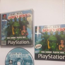 Videojuegos y Consolas: ARMY MEN SARGE'S HEROES - PLAYSTATION 1 - PS1 - TDKV3. Lote 95225335