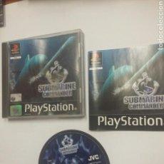 Videojuegos y Consolas: SUBMARINE COMMANDER - PLAYSTATION 1 - PS1 - TDKV3. Lote 95225575