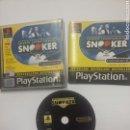 Videojuegos y Consolas: SNOOKER - PLAYSTATION 1 - PS1 - TDKV3. Lote 95225799
