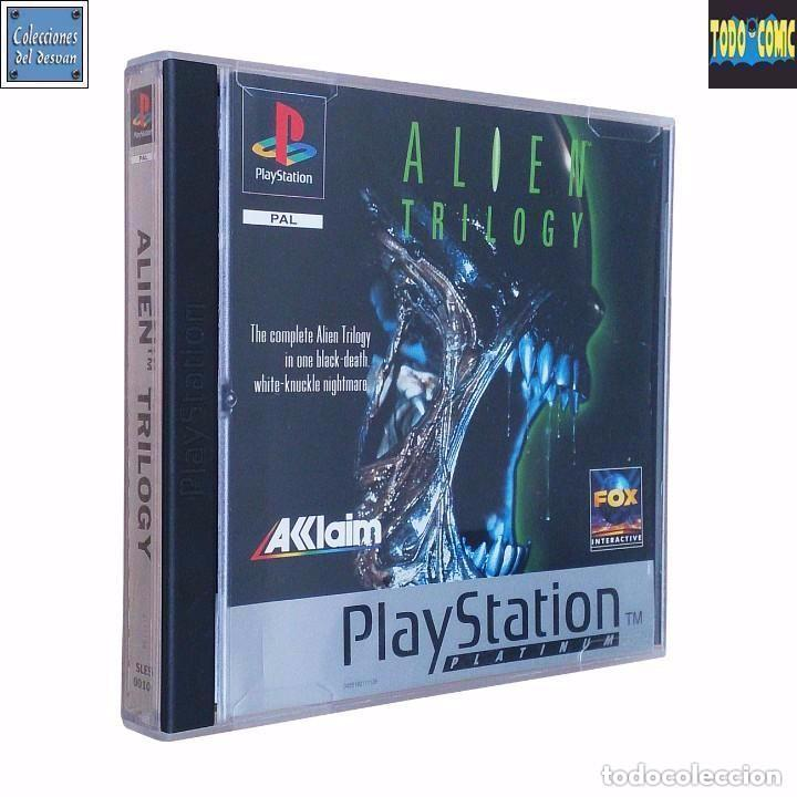 ALIEN TRILOGY / JUEGO PLAYSTATION PLAY STATION PSONE / PAL / FOX AKLAIM 1996 (Juguetes - Videojuegos y Consolas - Sony - PS1)
