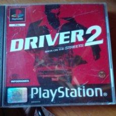 Videojuegos y Consolas: DRIVER 2 PAL FRANCIA PLAYSTATION. Lote 95468451