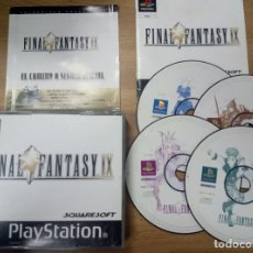 Videojuegos y Consolas: FINAL FANTASY IX 9 - PSX - PLAYSTATION 1 PLAY STATION - PS1 - PAL ESP. Lote 95551127