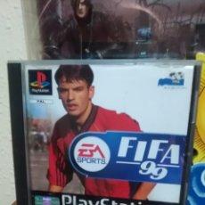 Videojuegos y Consolas: FIFA 99 - SONY PLAYSTATION 1 - PS1 - PSX - PS2 - PS3 - PAL - FUTBOL - COMPLETO. Lote 95729503