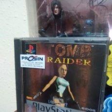 Videojuegos y Consolas: TOMB RAIDER - SONY PLAYSTATION 1 - PS1 - PS2 - PS3 - PAL - PLATINUM - LARA CROFT. Lote 95730887