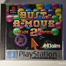 Videojuegos y Consolas: JUEGO SONY PLAYSTATION 1 PSX PS1 BUST-A-MOVE 2 ARCADE EDITION PLATINUM 1996 TAITO AKLAIM TIPO PUZZLE. Lote 95758023