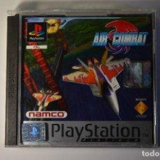 Videojuegos y Consolas: JUEGO SONY PLAYSTATION 1 PSX PS1 AIR COMBAT PLATINUM 1995 NAMCO SIMULADOR AVIONES AVIÓN AVIACIÓN. Lote 95758635