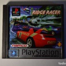Videojuegos y Consolas: JUEGO SONY PLAYSTATION 1 PSX PS1 RIDGE RACER PLATINUM 1994 NAMCO SIMULADOR CARRERAS DE COCHES. Lote 95760047