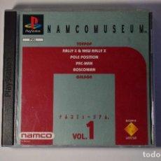 Videojuegos y Consolas: JUEGO SONY PLAYSTATION 1 PSX PS1 NAMCO MUSEUM VOLUMEN VOL. 1 PAC-MAN BOSCONIAN POLE POSITION. Lote 95761287