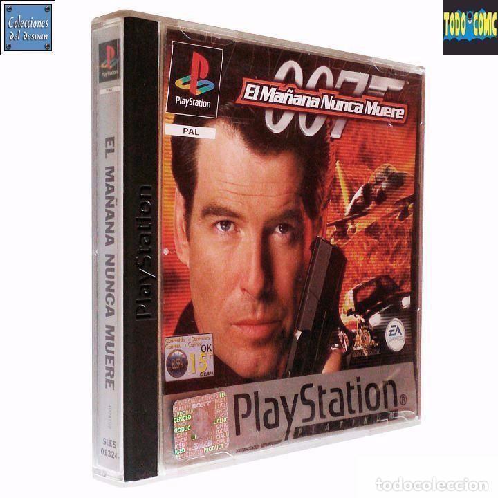 JAMES BOND 007 / EL MAÑANA NUNCA MUERE / PLAYSTATION PLAY STATION PSONE / PAL / ELECTRONIC ARTS 1999 (Juguetes - Videojuegos y Consolas - Sony - PS1)