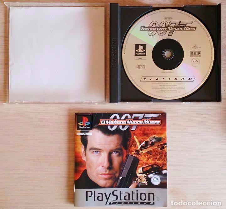 Videojuegos y Consolas: James Bond 007 / El Mañana Nunca Muere / PlayStation Play Station PSone / PAL / Electronic Arts 1999 - Foto 2 - 97791358