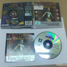 Videojuegos y Consolas: TOMB RAIDER SONY PLAYSTATION , PS PS1 COMPLETO PAL-ESPAÑA. Lote 96835099