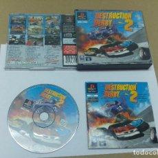 Videojuegos y Consolas: DESTRUCTION DERBY 2 SONY PLAYSTATION , PS PS1 COMPLETO PAL-EUROPE. Lote 96835307