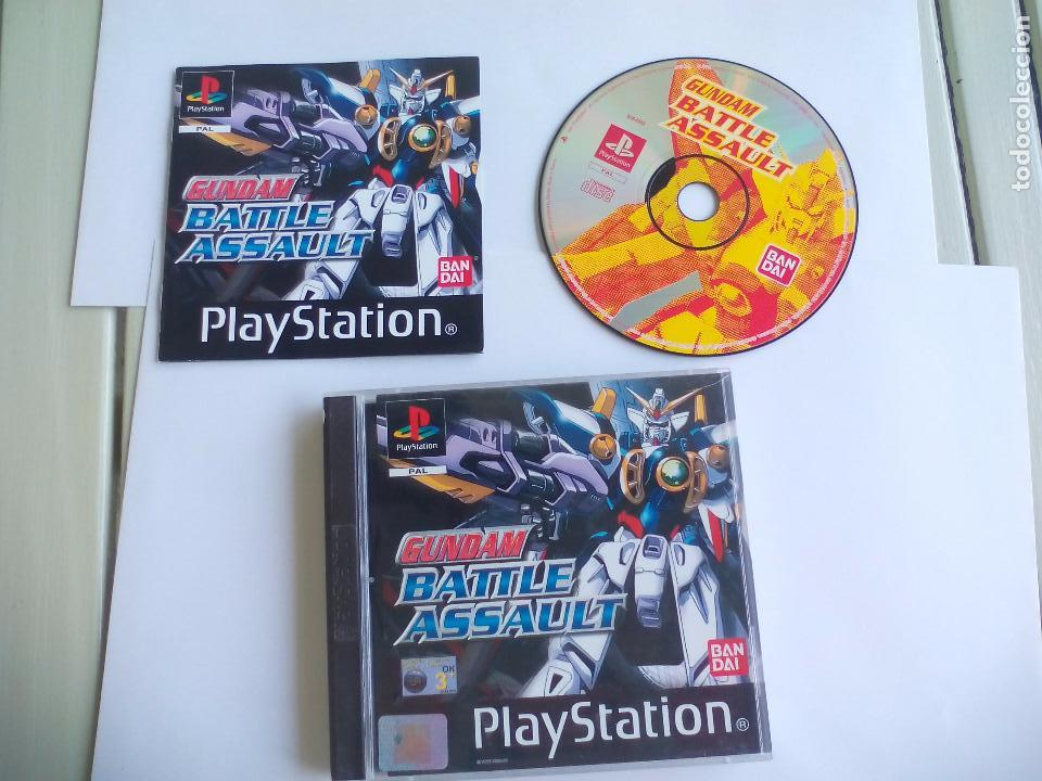 GUNDAM BATTLE ASSAULT.. JUEGO PARA LA CONSOLA PLAYSTATION 1. PS1. PAL (Juguetes - Videojuegos y Consolas - Sony - PS1)