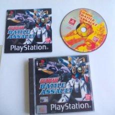 Videojuegos y Consolas: GUNDAM BATTLE ASSAULT.. JUEGO PARA LA CONSOLA PLAYSTATION 1. PS1. PAL. Lote 97002711