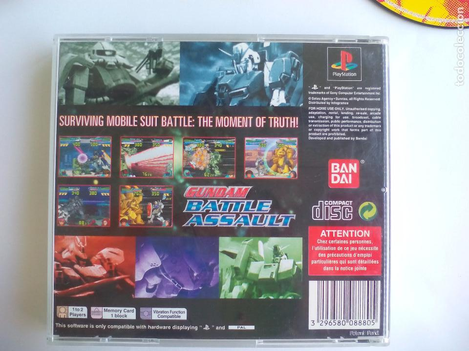 Videojuegos y Consolas: Gundam Battle Assault.. Juego para la consola Playstation 1. PS1. Pal - Foto 2 - 97002711