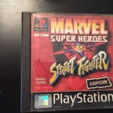 Videojuegos y Consolas: MARVEL SÚPER HÉROES VS STREET FIGTHER. Lote 98234598